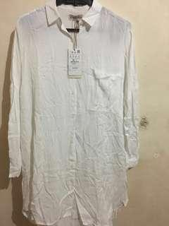 kemeja cewek pull and bear original and new