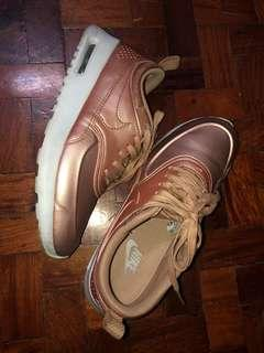 REPRICED 6.5 NIKE AIRMAX THEA ROSE GOLD