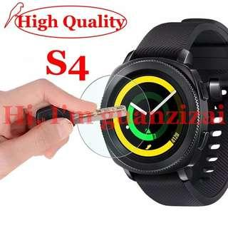 2 Tempered glass s4 gear samsung galaxy watch