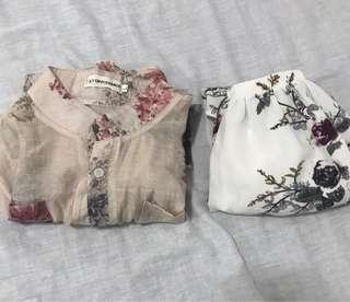 🚚 Floral Tops