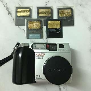 Olympus Camedia C-2000 Z & SmartMedia Card