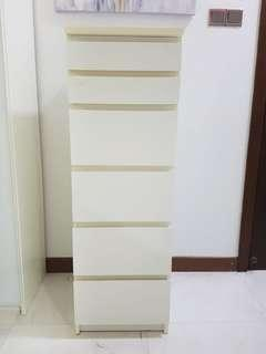 Malm chest of drawers with mirror
