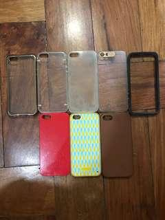 Iphone SE / 5 Cases (Set of 8)