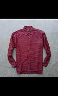 #Jumat80 Flanell red fit to M