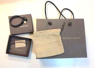 Bottega Veneta Leather hand rope BV真皮手帶