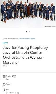 Jazz For Young People By Jazz at Lincoln Centre Orchestra