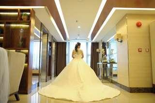 REPRICED!! Preloved Wedding Gown