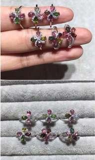 🚚 Tourmaline Crystal Ring 1pcs