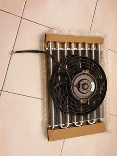 radiator cooler and fan