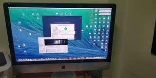 iMac 27 inch with LED Backlit Display (Late 2013)