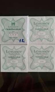 Lenzner Goldbrokat Violin E String (Loop End) 0.27