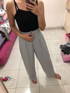 Grey vintage pants