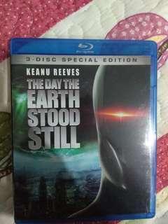 Bluray movie : the day the earth stood still