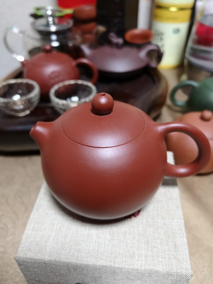 正宗宜兴紫砂茶壺大红袍西施