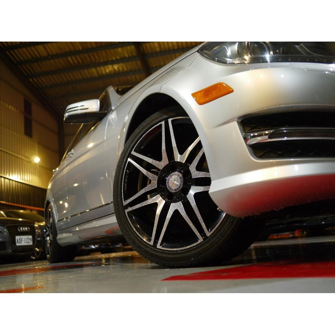 紳士的配件 品味的升級2013年C250 PLUS AMG 銀色三芒星要帥就要快_妹子輕鬆入手!未領牌 利率低 !