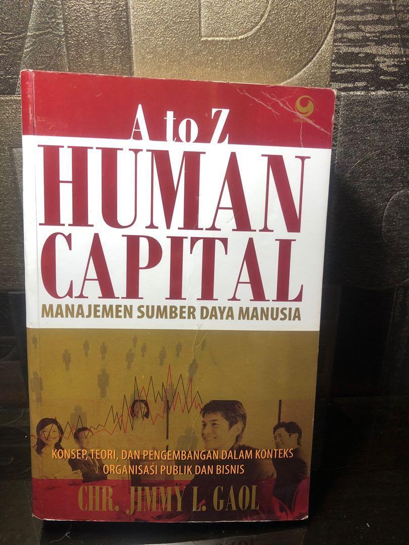 a to z human capital manajemen sumber daya manusia