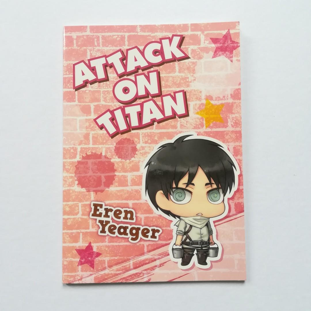 Attack on Titan - Eren Yeager (Chimi Chara ver.) - Mini Notebook