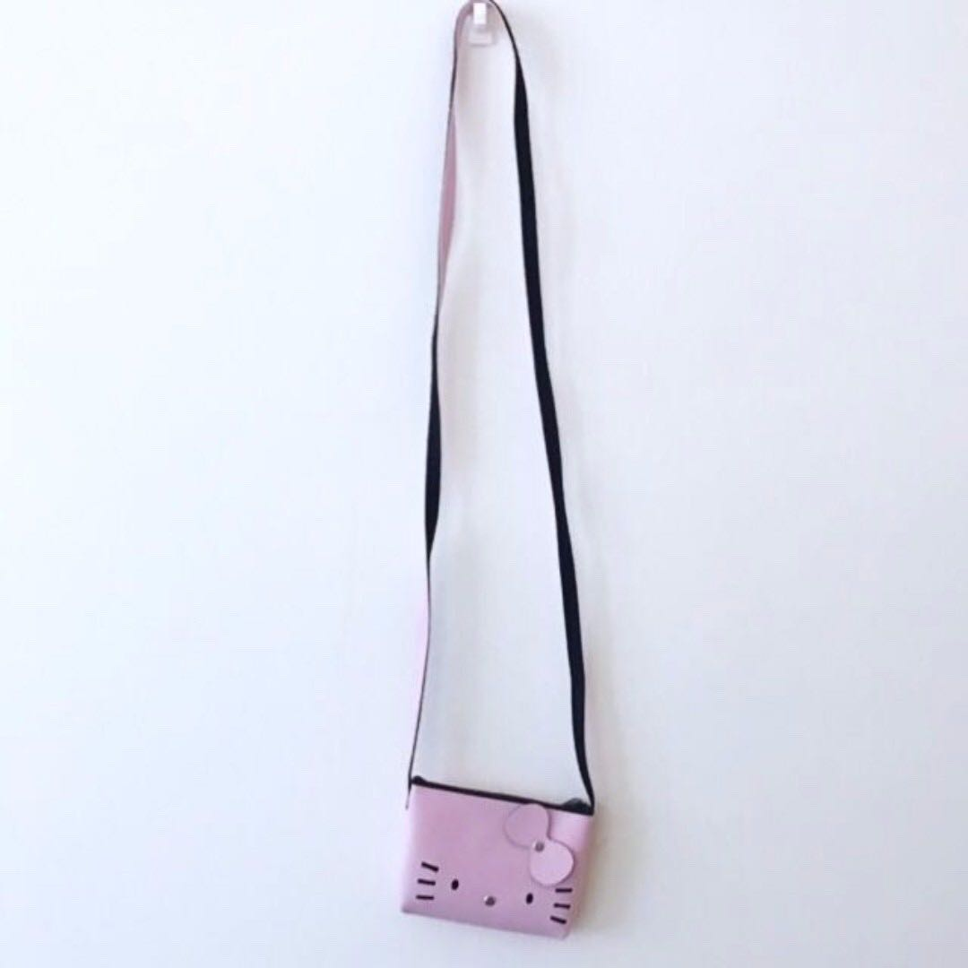 4c98f46fa BNWOT Pastel Baby Sky Blue Hello Kitty Pouch Coin Wallet Sling Bag ...