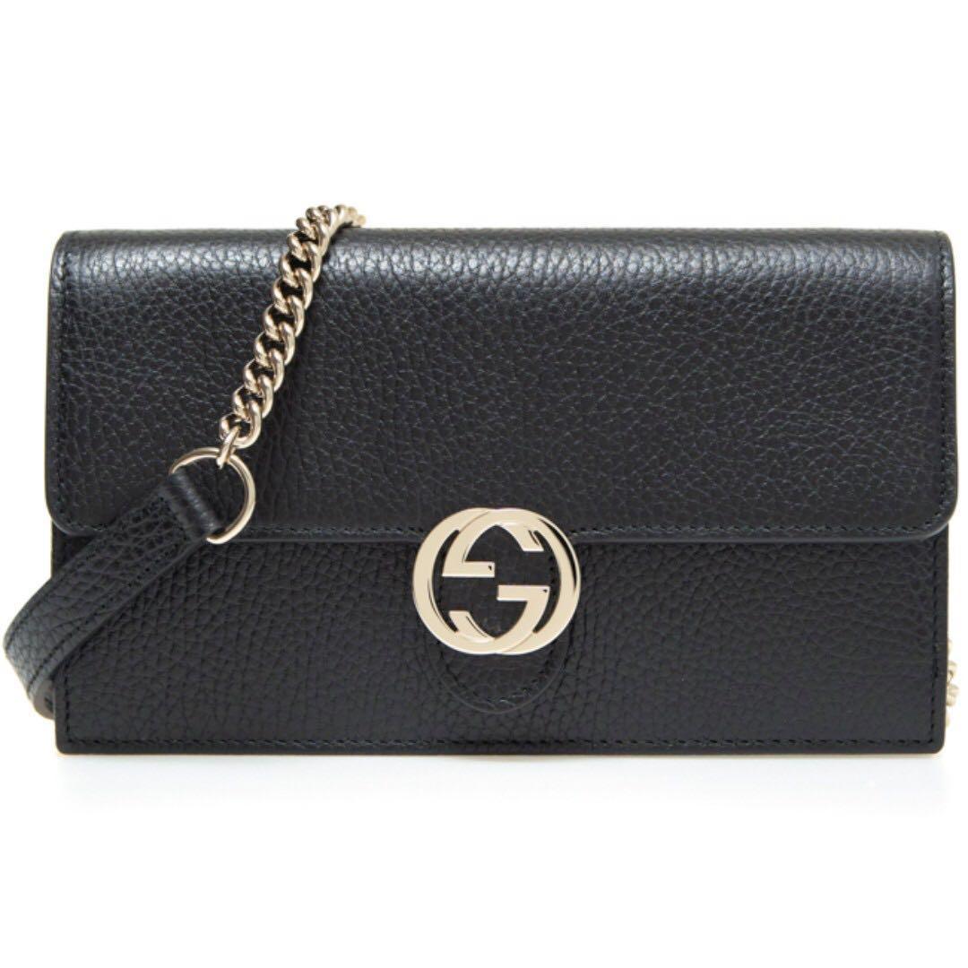 9479f988c2d2c4 BRAND NEW Gucci Ladies Womens GG Crossbody Mini Bag (Black), Luxury ...
