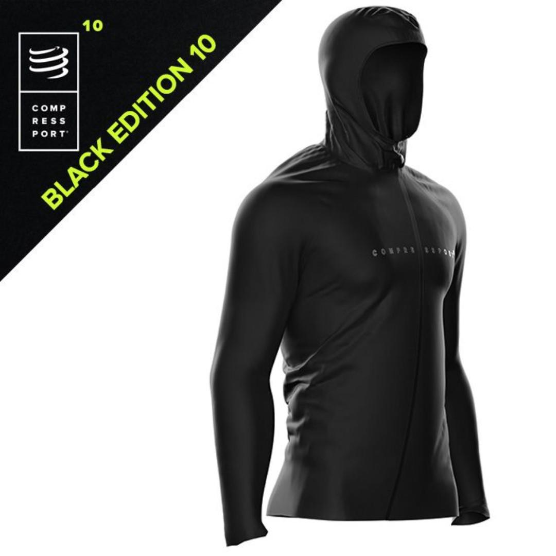 Compressport Black Edition 10 Thunderstorm 10/10 Jacket Size