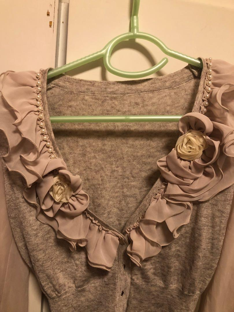 Elegant Pink cardigan