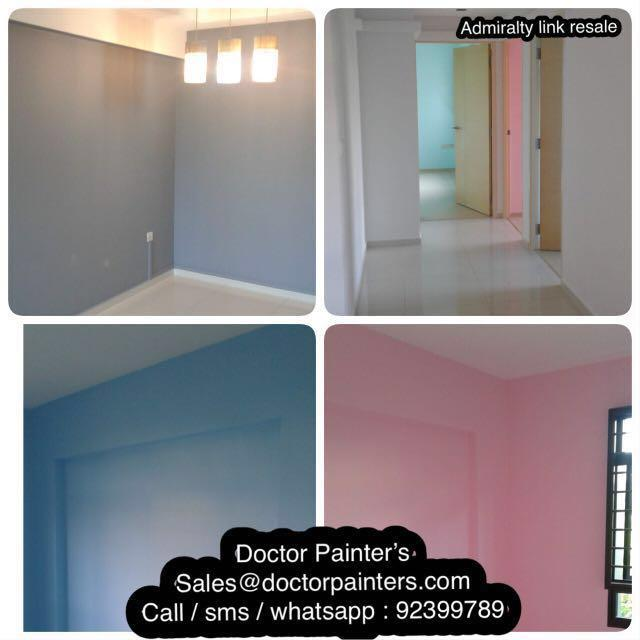 Fast & Affordable Painting Services! Free sealer , Free momento/design , 1 day completion! Lowest price in town