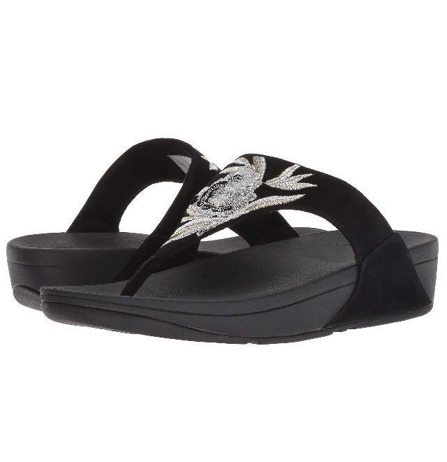 75f01dc46 FitFlop Women s Lulu Baroque Toe-Thong Sandal