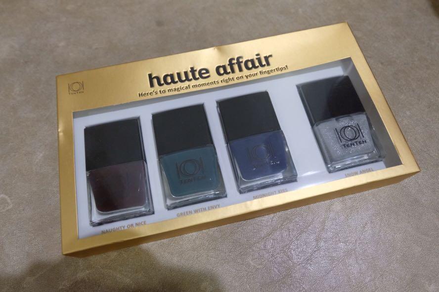 Haute Beauty Nail Polish Set