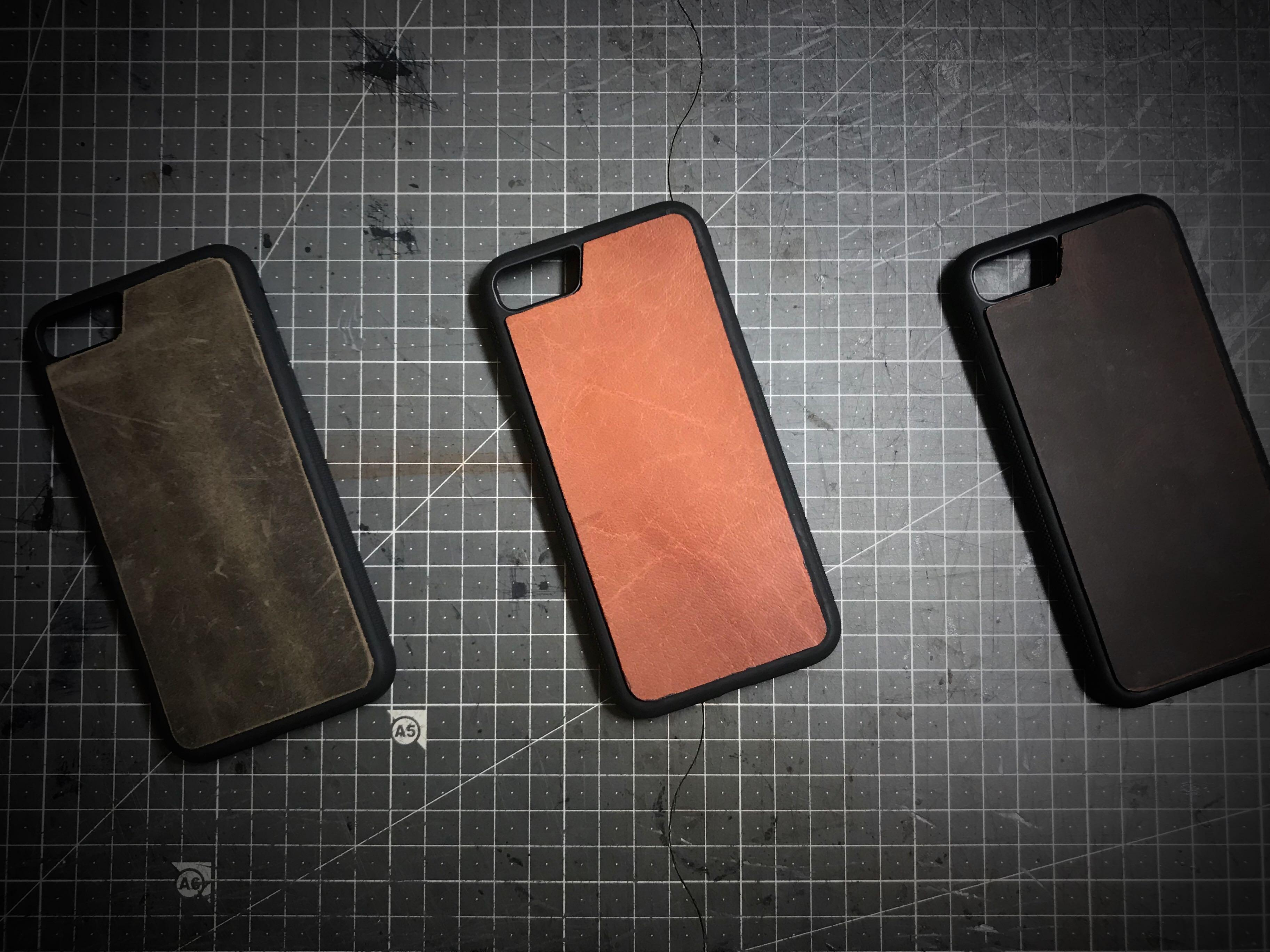 Leather Phone Case (iPhone 7/8 and iPhone 7+/8+