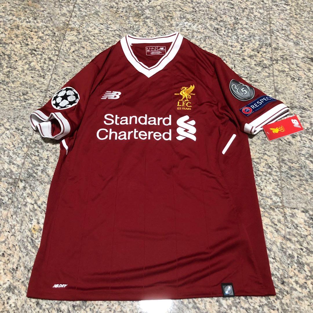 d89b2579b Liverpool FC 2017 18 Champions League Jersey
