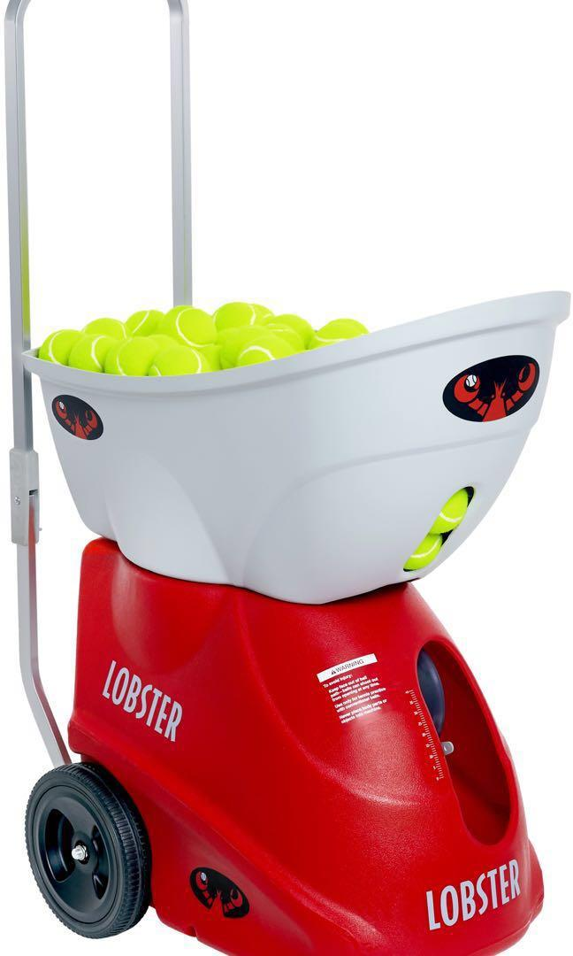 Lobster Elite Liberty Tennis Ball Machine Sports Sports Games Equipment On Carousell