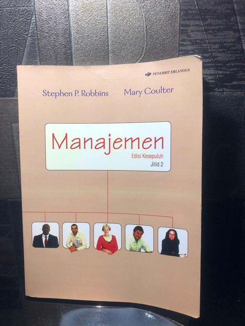 Manajemen Stephen Robbins Jilid 2 Original