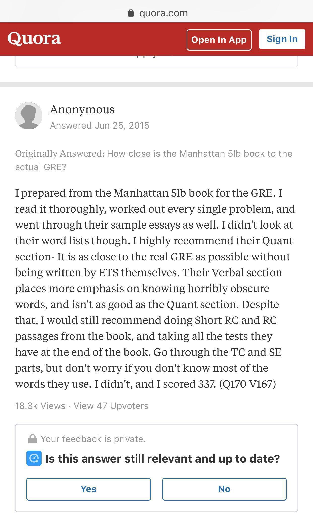 5lb manhattan gre review