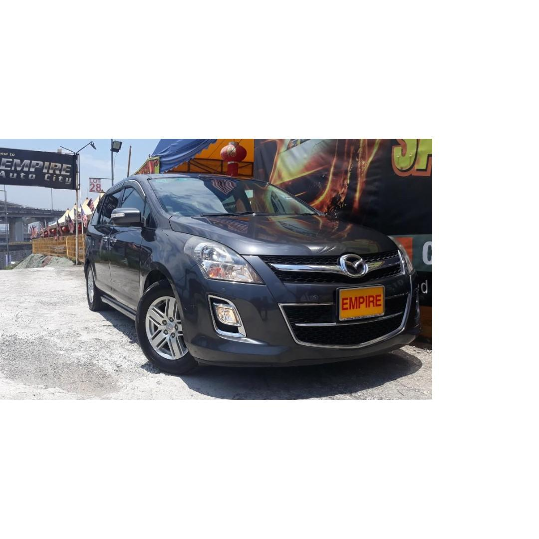 MAZDA 8 MPV 2.3L ( A ) MZR IN-LINE 4 CYLINDER !! FULL SERVICE RECORD BY BERMAZ MOTOR !! NEW FACELIFT !! PREMIUM FULL SPECS THAT COMES WITH SUN ROOF PUSH START POWER DOOR POWER BOOT AND ETC !! ( WX 8484 X ) 1 CAREFUL OWNER !!