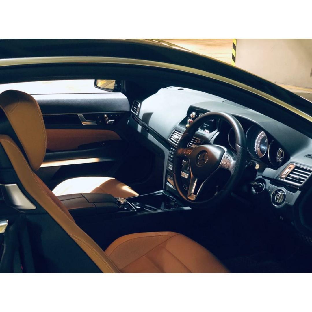 MERCEDES-BENZ E250 COUPE FACELIFT 2013