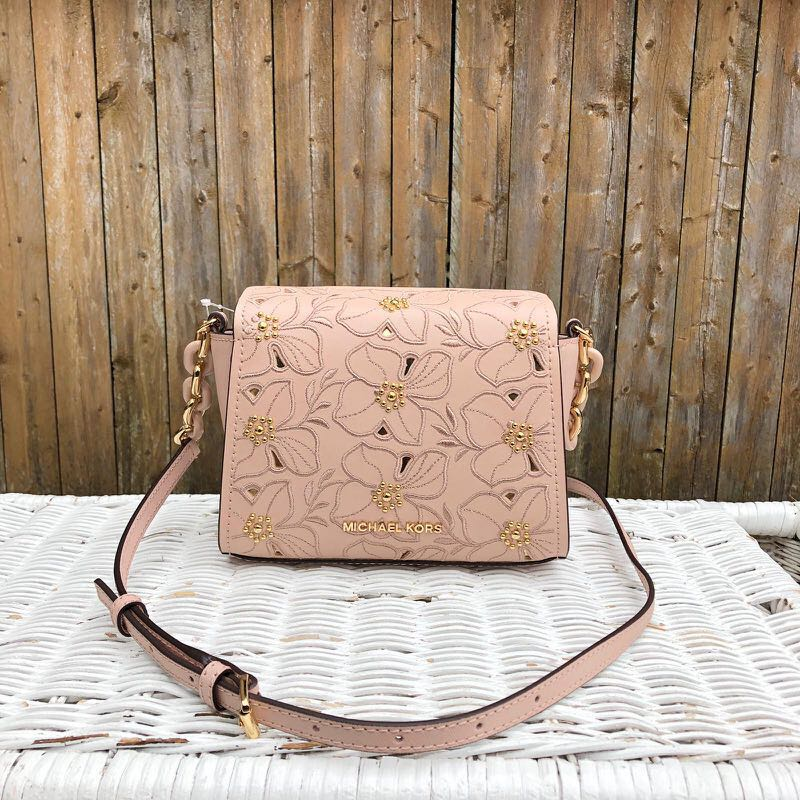 fd808c85293e Michael Kors Small Pink Floral Sofia Crossbody Preorder, Luxury, Bags &  Wallets, Sling Bags on Carousell