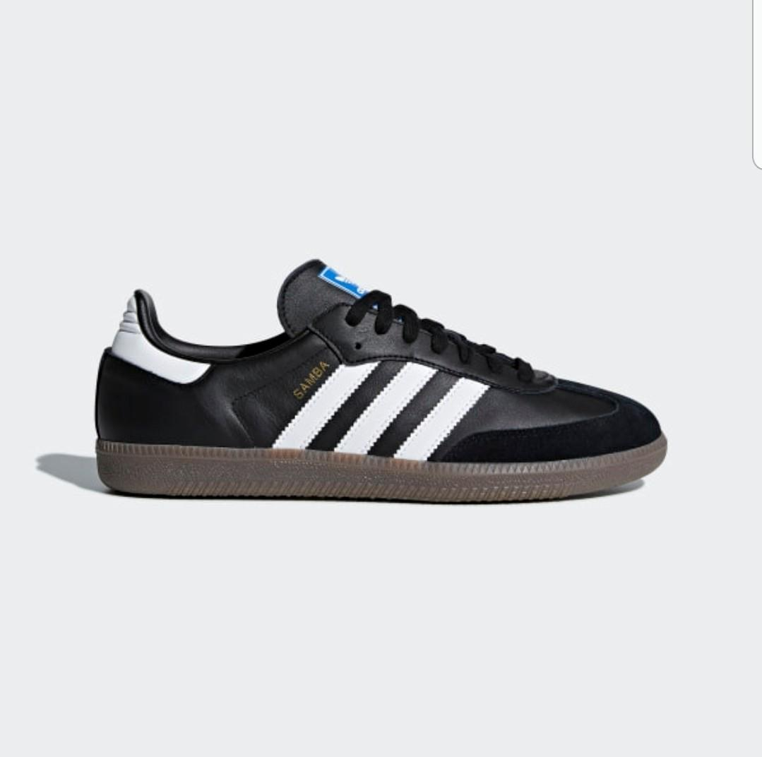 [SPECIAL PRICE THIS WEEK ONLY - NOW OR NEVER] Adidas Shoes Samba Original Black