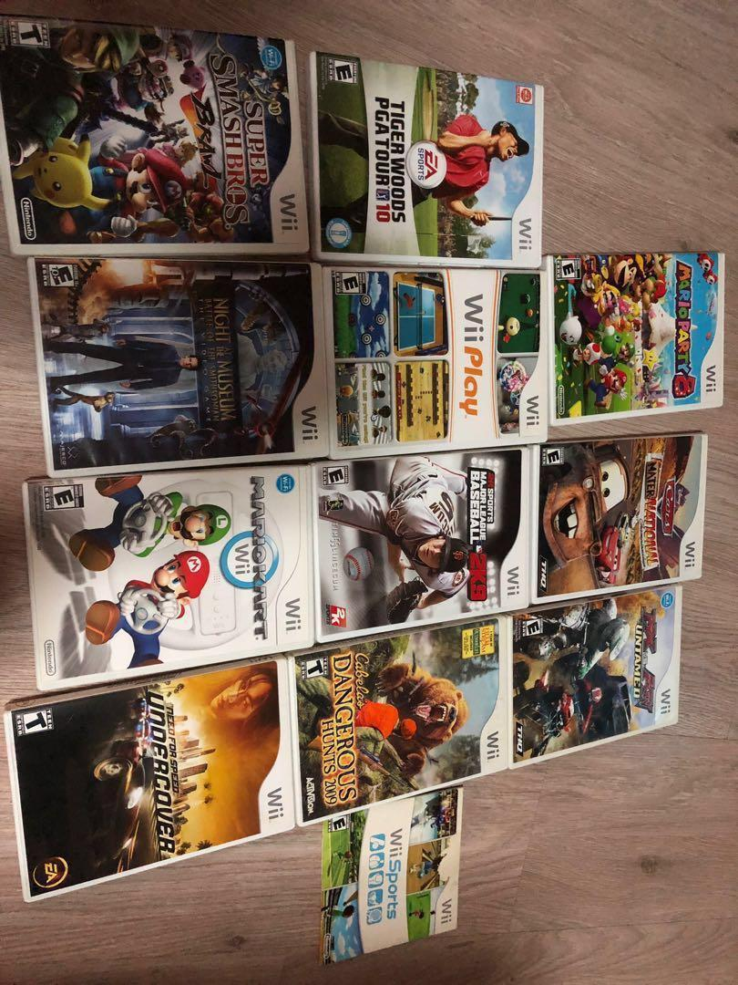Nintendo Wii games, Toys & Games, Video Gaming, Video Games