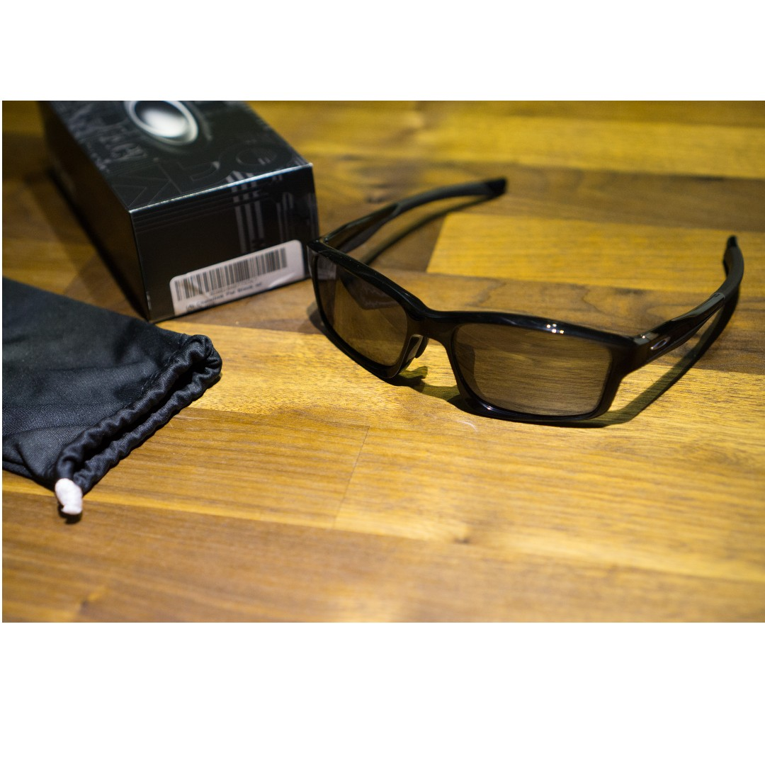 eaffec40dc8f Oakley Chainlink™ (Asia Fit) • Polished Black Frame • Black Iridium ...