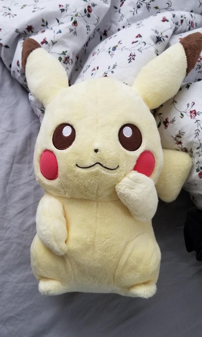 Official I love pikachu plush