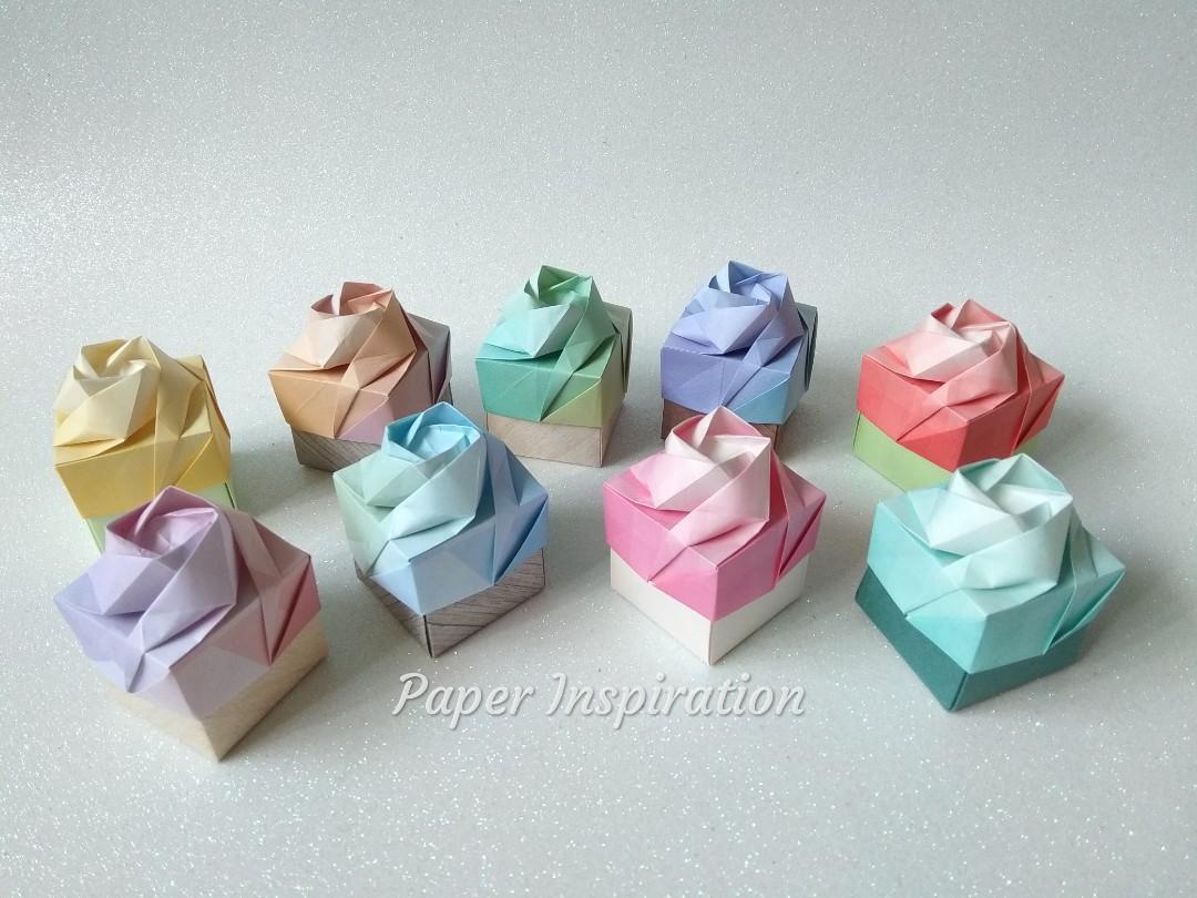 Rose Box by Maria Sinayskaya — Diagram | Origami rose box, Origami ... | 810x1080