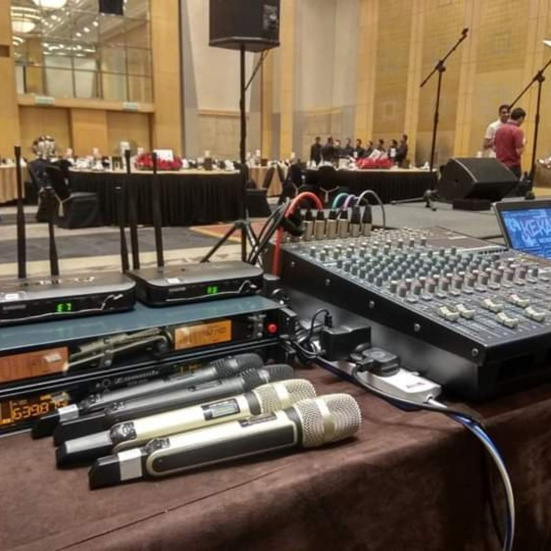PA SYSTEM / BACKLINE EQUIPMENTS FOR RENTAL