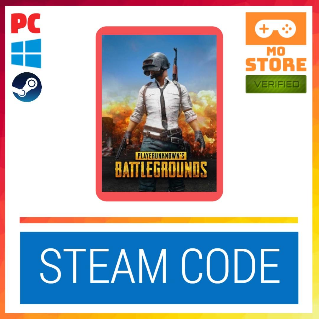 PLAYERUNKNOWN'S BATTLEGROUNDS/PUBG - Steam Key ( Code ) [ PC GAME ]