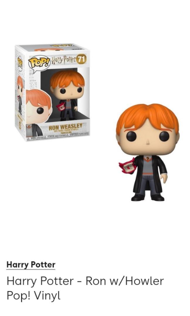 Pop Vinyl Ginny Weasley & Ron Weasley - Harry Potter