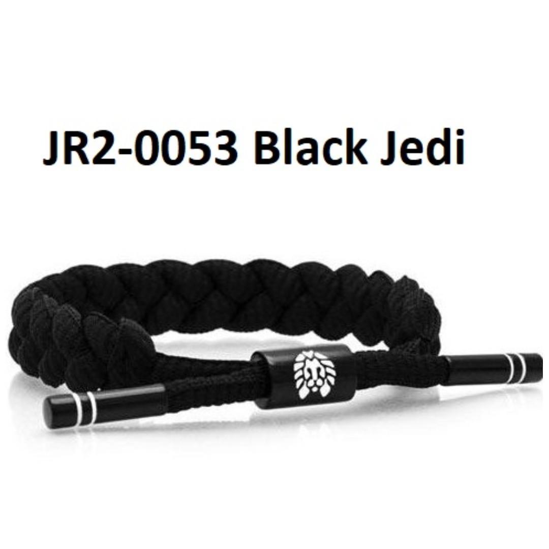 Rastaclat Knotaclat Black Jedi Star War Bracelet Men