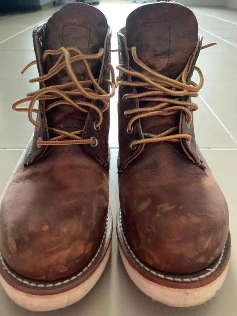 35917a2e33e Red Wing 9111 Round Toe US5D, Men's Fashion, Footwear, Boots on ...