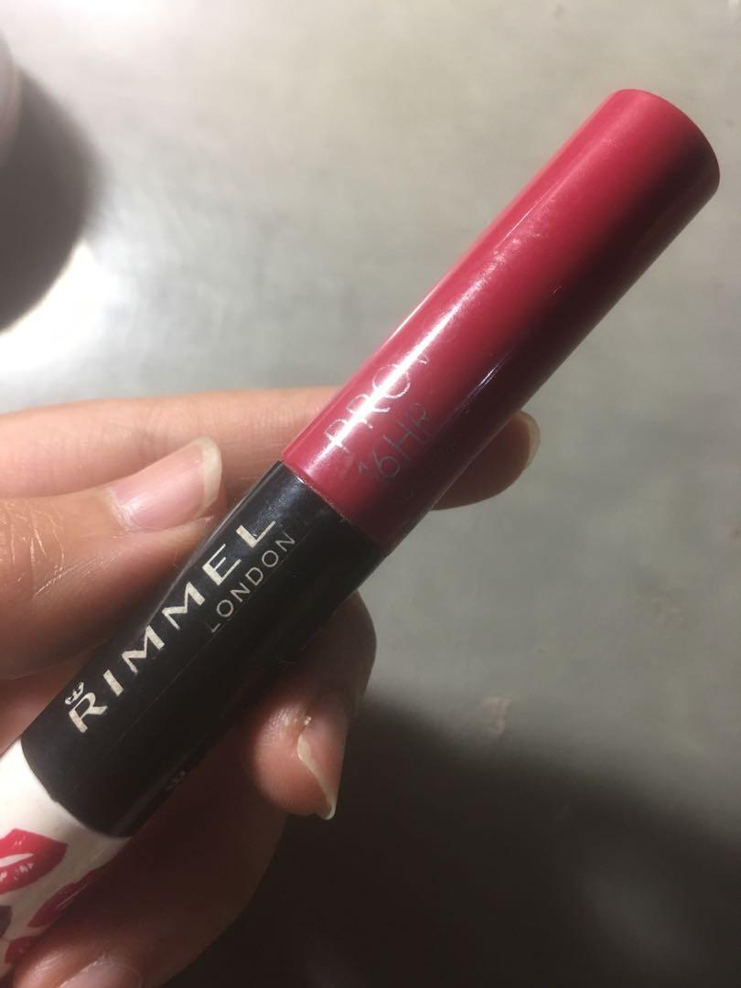 Rimel matte lip cream
