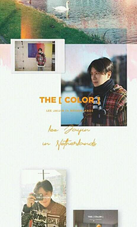 SECHSKIES : LEEJAIJIN - [THE COLOR] LEE JAIJIN in NETHERLANDS (DRAWING Ver.) - PREORDER/NORMAL ORDER/GROUP ORDER/GO + FREE GIFT BIAS PHOTOCARDS (1 ALBUM GET 1 SET PC, 1 SET HAS 9 PC)
