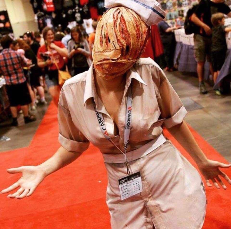 Silent Hill Nurse Cosplay - Handmade Halloween Costume