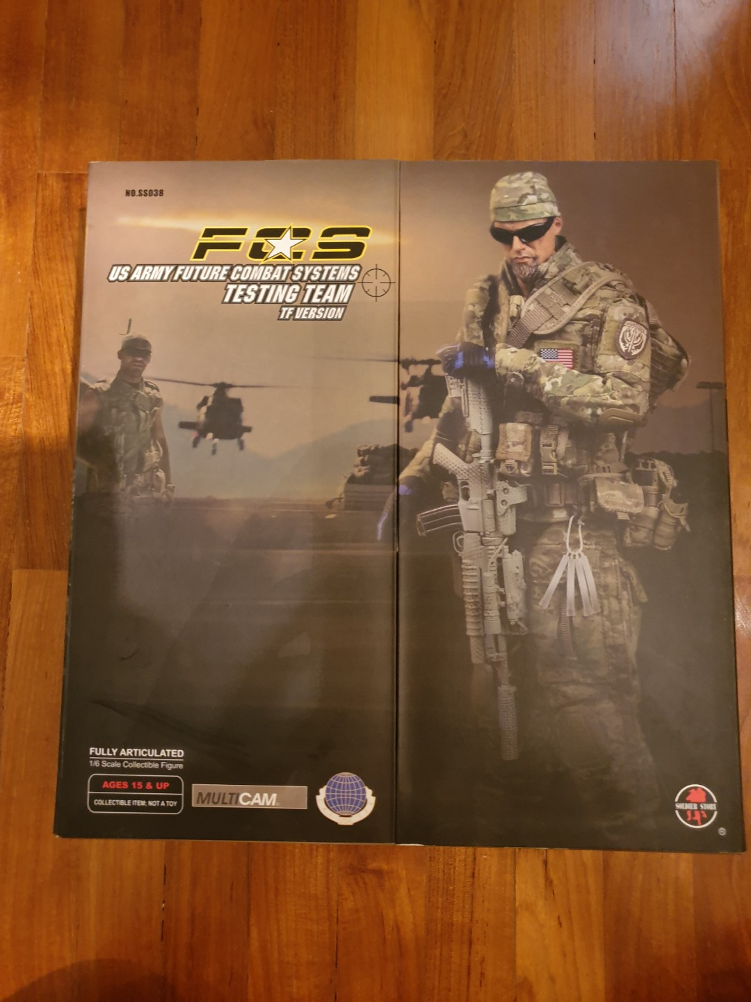 soldier story 1/6 us army future combat systems testing team tf version